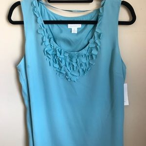 XL Charter Club sleeveless blouse